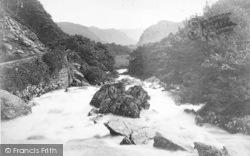 Betws-Y-Coed, River Llugwy c.1880