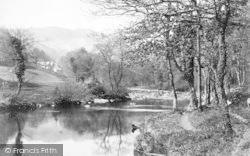 Betws-Y-Coed, River Llugwy c.1890