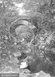 Betws-Y-Coed, Roman Bridge c.1900