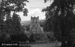 St Mary's Church 1953, Betws-Y-Coed