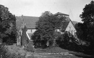 Betws-Y-Coed, St Mary's Church c.1900