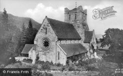 St Mary's Church c.1930, Betws-Y-Coed