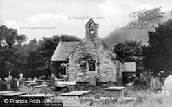 St Michael's Church c.1930, Betws-Y-Coed