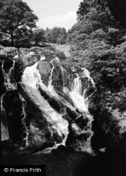 Betws-Y-Coed, Swallow Falls 1963