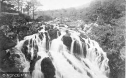 Betws-Y-Coed, Swallow Falls c.1890
