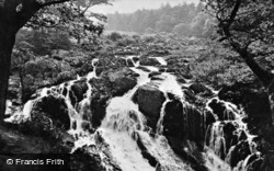 Swallow Falls c.1913, Betws-Y-Coed