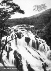 Swallow Falls c.1920, Betws-Y-Coed