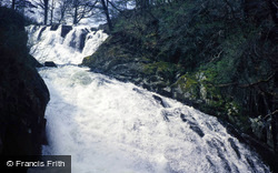 Betws-Y-Coed, Swallow Falls From Below 1987