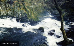 Betws-Y-Coed, Swallow Falls, Lower Section 1987