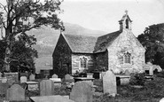 Betws-Y-Coed, The Church c.1876