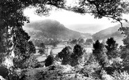 Betws-Y-Coed, The Llugwy Valley From Above Miners Bridge 1891
