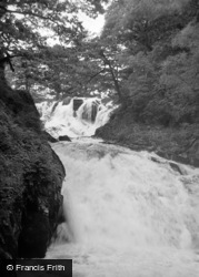 Betws-Y-Coed, The Lower Falls, Swallow Falls 1953