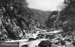 The Miners Bridge c.1920, Betws-Y-Coed
