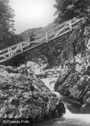 The Miners Bridge c.1930, Betws-Y-Coed