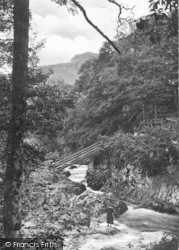 Betws-Y-Coed, The Miners Bridge c.1930