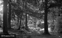 The River By Fir Tree Island 1953, Betws-Y-Coed