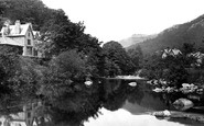 Betws-Y-Coed, The River Llugwy c.1876