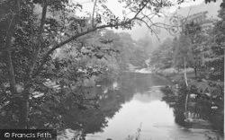 The River Llugwy c.1880, Betws-Y-Coed