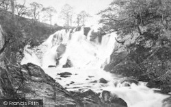 Betws-Y-Coed, The Swallow Falls, The Upper Fall 1891