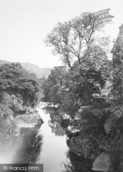 Betws-Y-Coed, View From The Bridge 1936