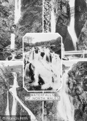 Betws-Y-Coed, Waterfalls Of North Wales c.1960