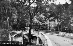 Betws-Y-Coed, Waterloo Bridge c.1930