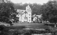 Betws-Y-Coed, Waterloo Hotel  1892