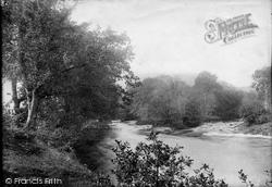 Watersmeet On The Llugwy 1892, Betws-Y-Coed