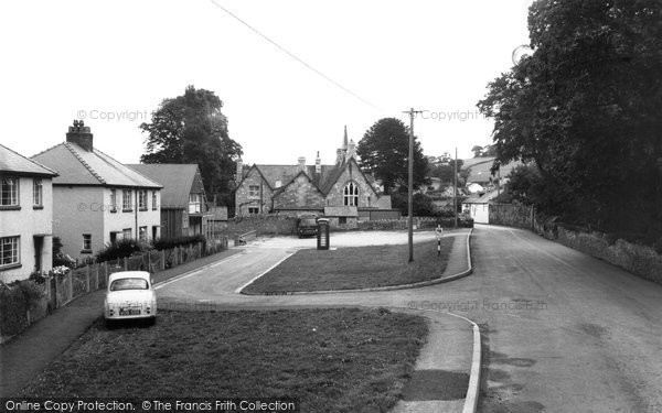 Betws Yn Rhos, The Green And Village Hall c.1960