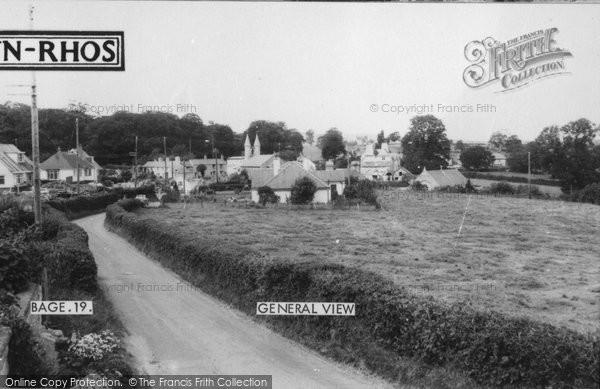 Betws Yn Rhos, The Village c.1960