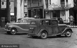 Austin A40 And Singer Cars c.1955, Beverley