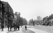 Beverley, Market Place 1886