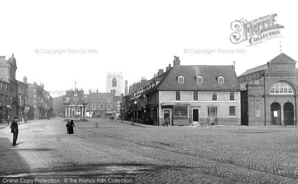 Beverley, Market Place 1894
