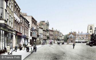 Beverley, Market Place 1900