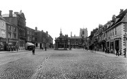 Beverley, Market Place 1913