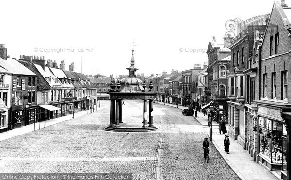 Beverley, Market Place 1913