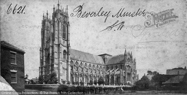 Beverley, Minster  c.1873