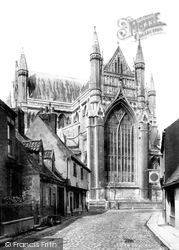 Minster East End c.1885, Beverley