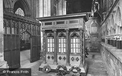 Minster, East Yorkshire Regiment War Shrine And Chapel 1927, Beverley