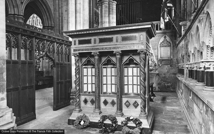 Beverley, Minster, East Yorkshire Regiment War Shrine and Chapel 1927