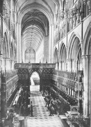 Beverley, Minster, Near Choir West c.1869