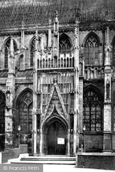 Minster North Door c.1885, Beverley