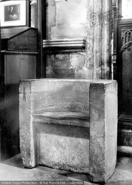 Beverley, Minster, Sanctuary Chair 1918