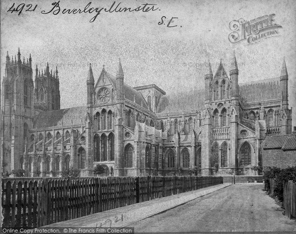 Beverley, Minster, South East c.1869