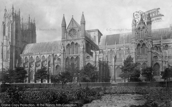 Beverley, Minster, South Side 1894