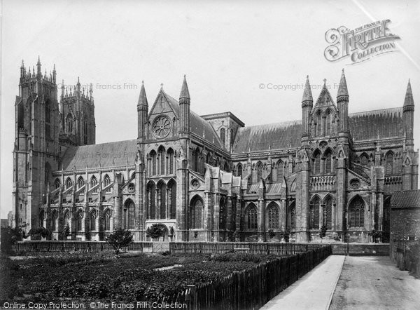 Beverley, Minster, South Side c.1873