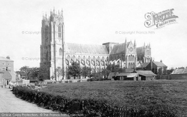 Beverley, Minster, south west 1894