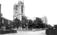 Beverley, Minster South West 1906