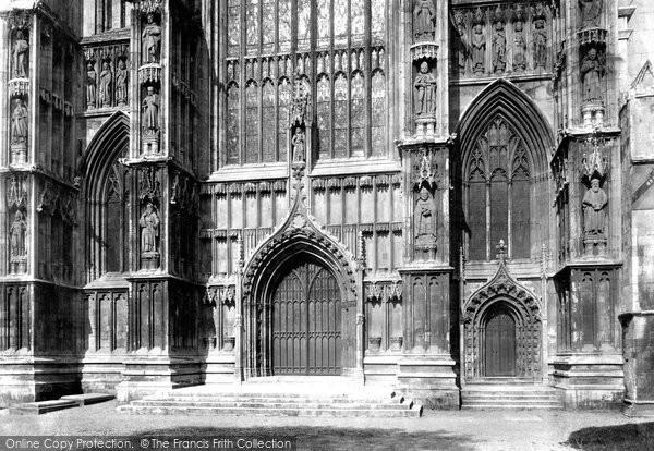 Beverley, Minster, West Front 1900