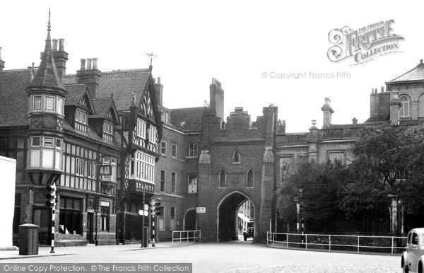 Beverley, North Bar c.1955